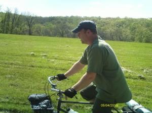 Scott on his perfect utility tourer.