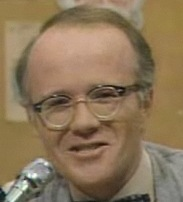 My hero = Les Nessman (say boldly with appropriate reverb effect.)